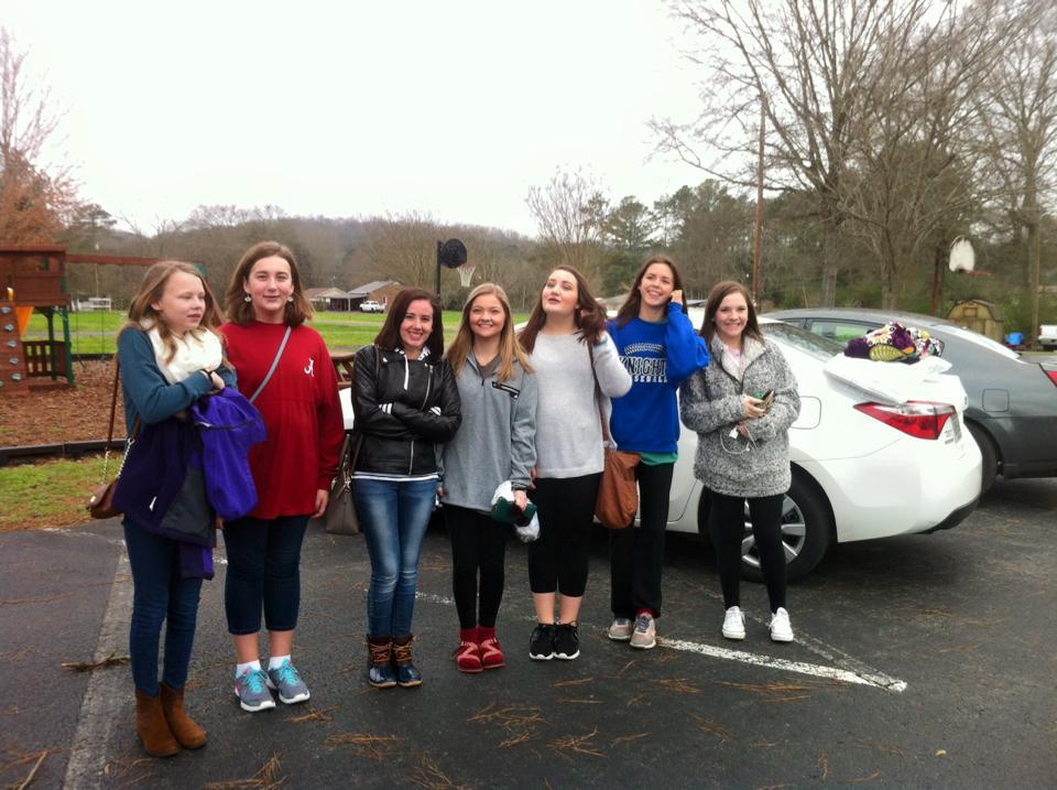 GIRLS ON TRIP